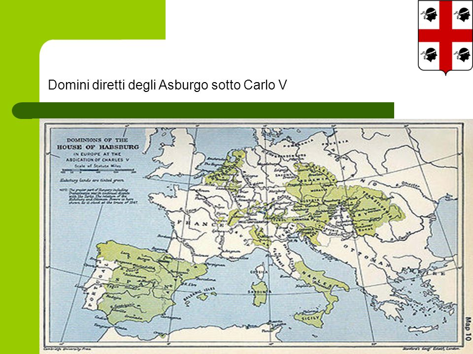 Domini diretti degli Asburgo sotto Carlo V