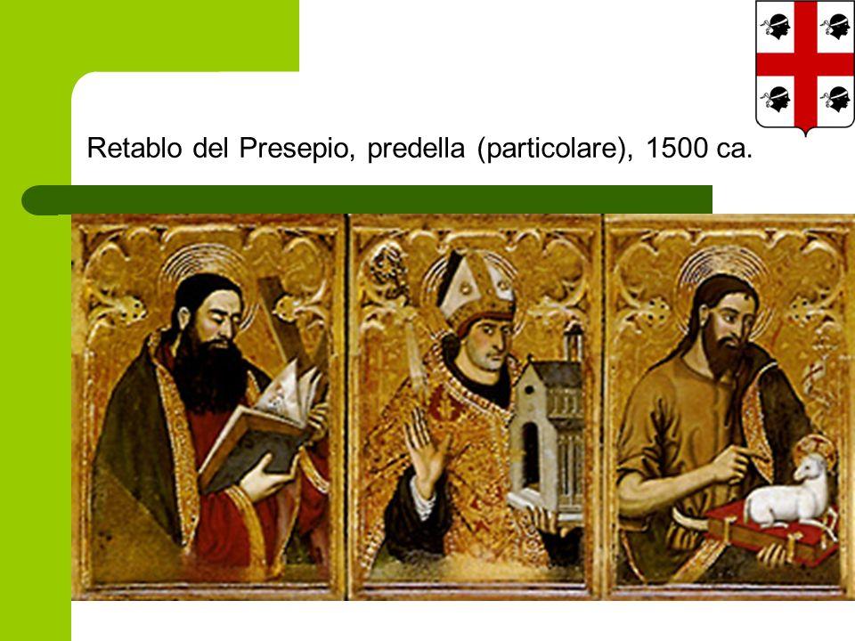 Retablo del Presepio, predella (particolare), 1500 ca.