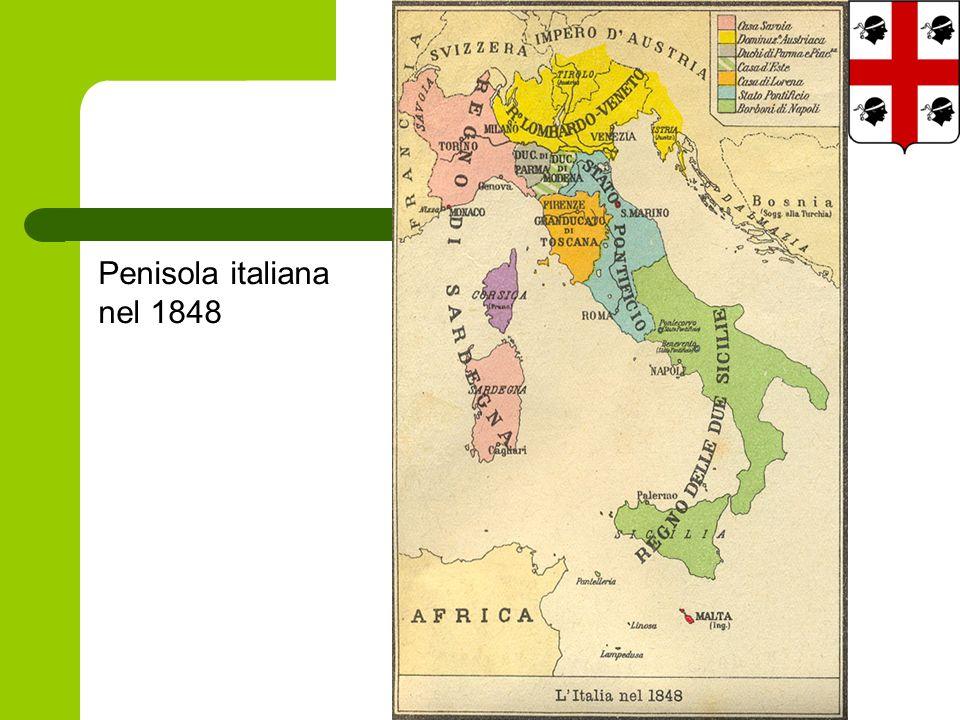 Penisola italiana nel 1848