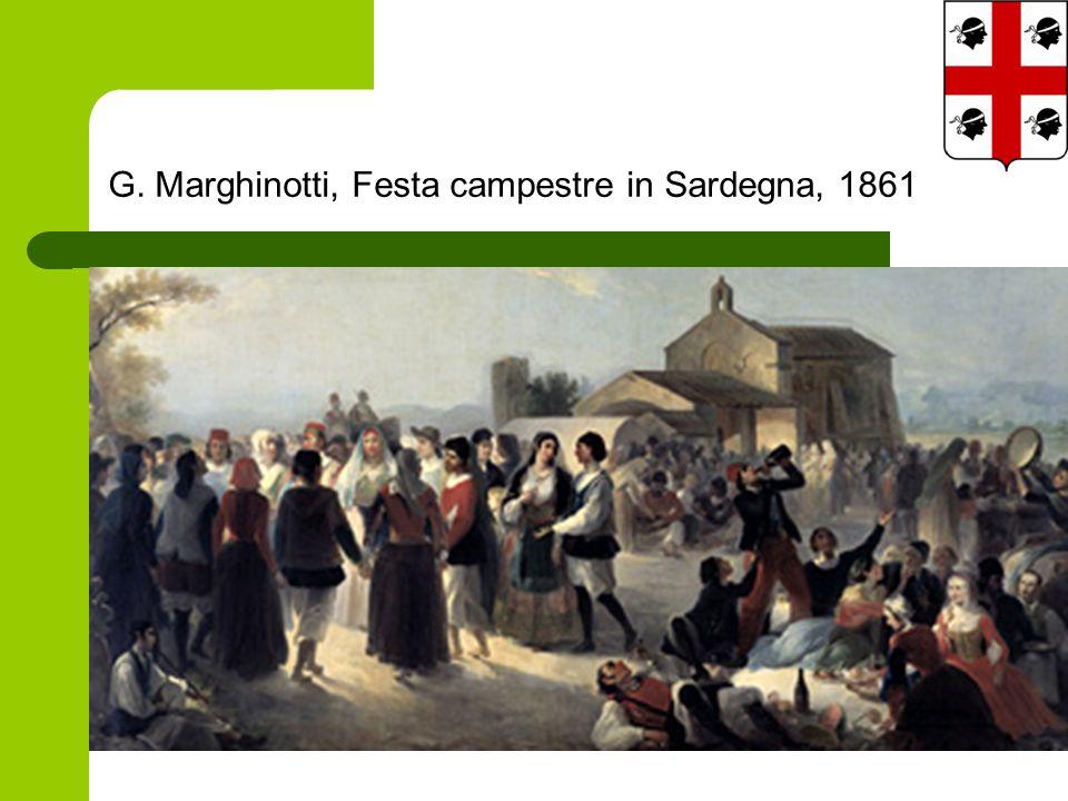 G. Marghinotti, Festa campestre in Sardegna, 1861