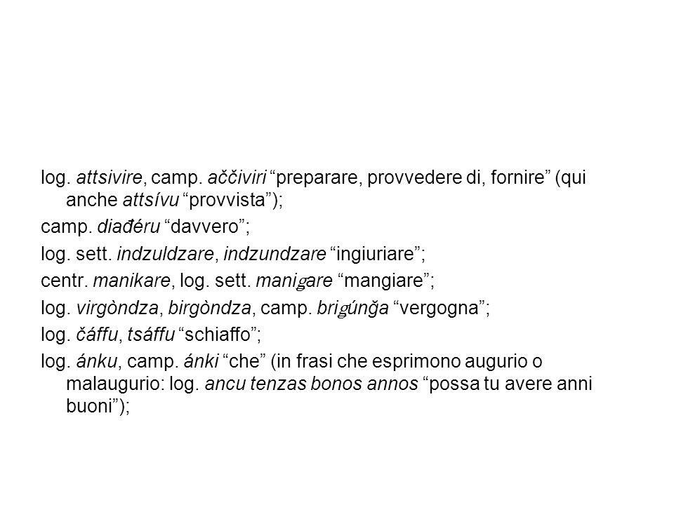 log.ğássu, dzássu, camp. ğássu callaia, ingresso ai poderi rustici; luogo, sito; camp.