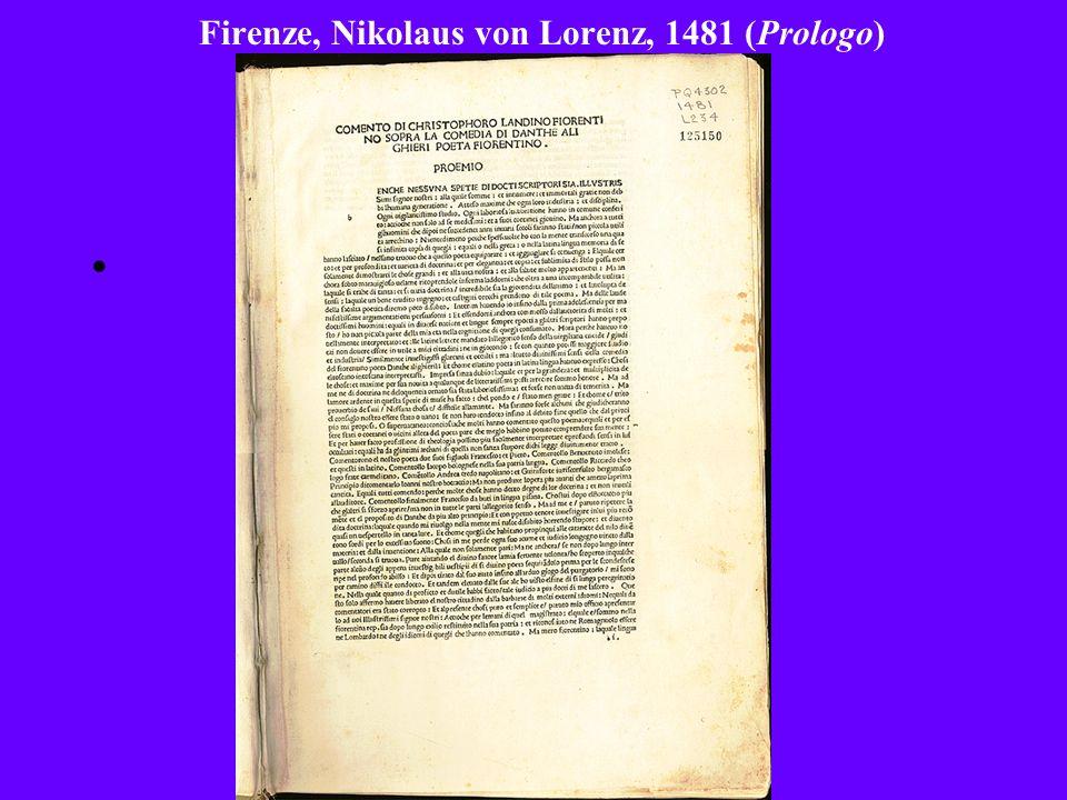 Firenze, Nikolaus von Lorenz, 1481 (Prologo)