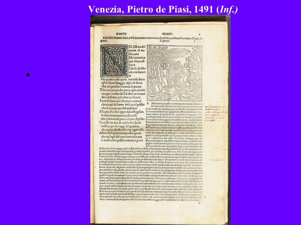 Venezia, Pietro de Piasi, 1491 (Inf.)