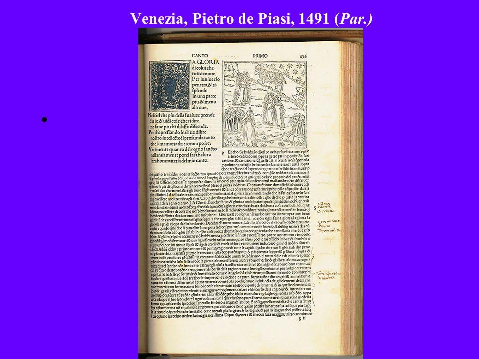 Venezia, Pietro de Piasi, 1491 (Par.)