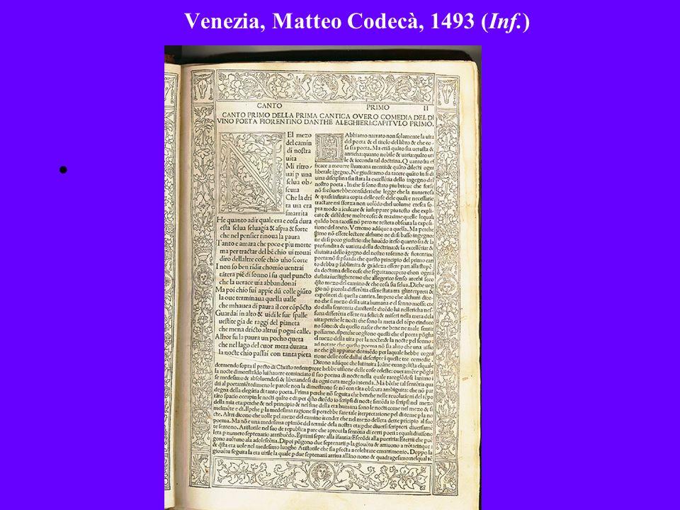 Venezia, Matteo Codecà, 1493 (Inf.)