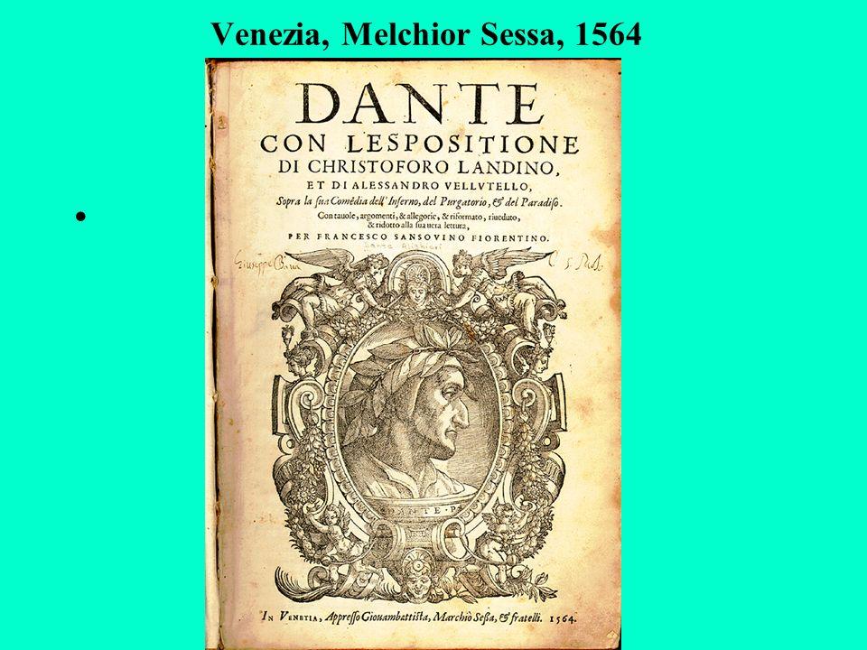 Venezia, Melchior Sessa, 1564