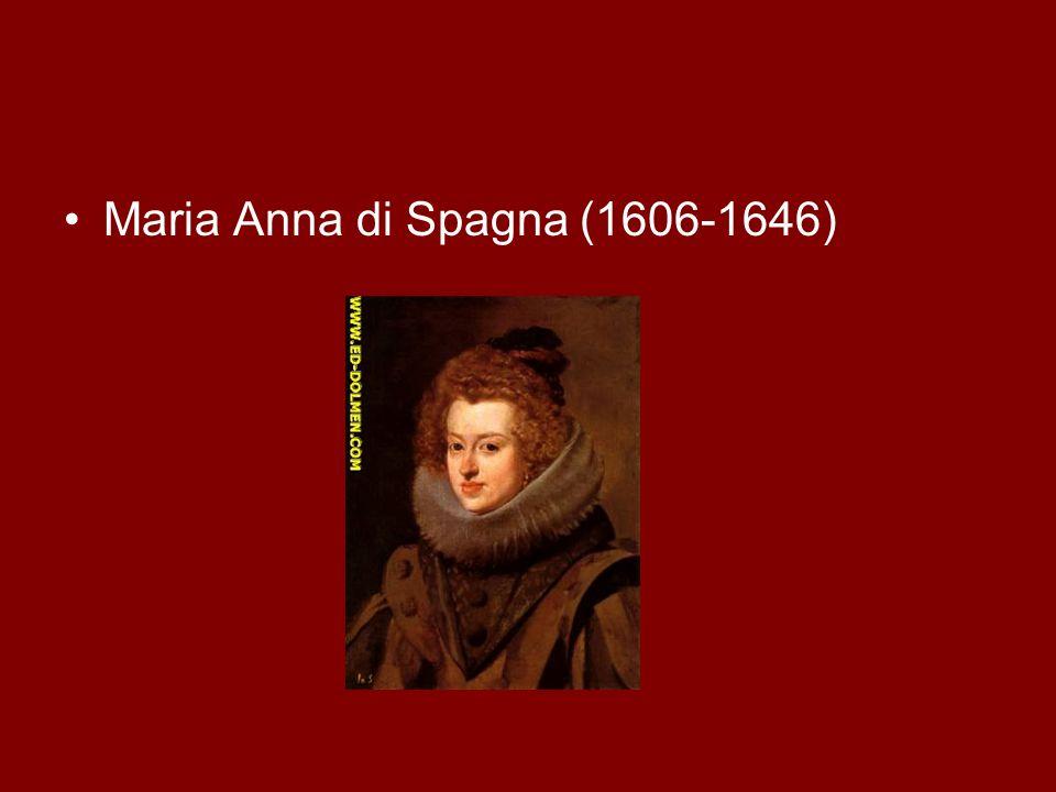Maria Anna di Spagna (1606-1646)