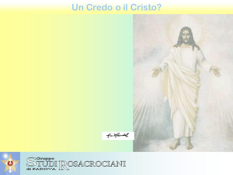 Un Credo o il Cristo