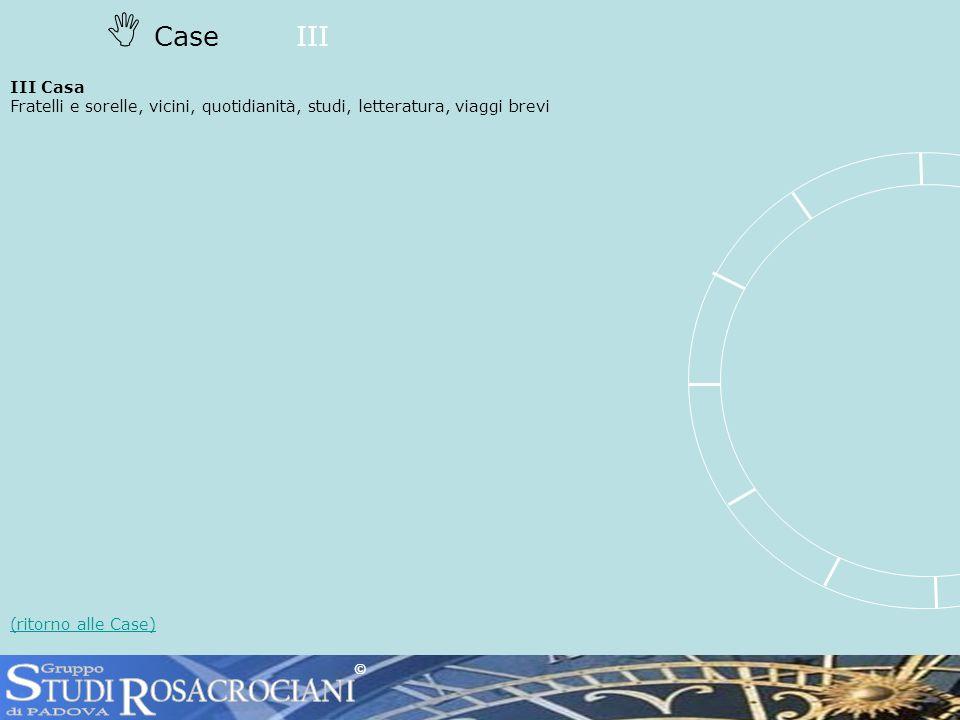 CaseIII III Casa Fratelli e sorelle, vicini, quotidianità, studi, letteratura, viaggi brevi (ritorno alle Case) ©