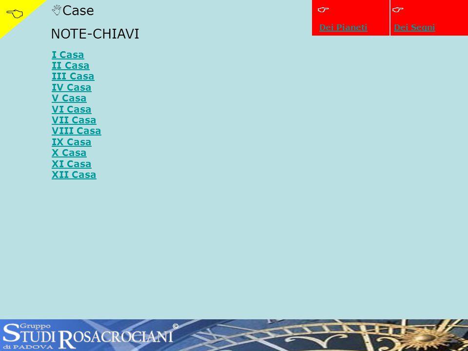 CaseIX IX Casa Estero, aspirazioni, studi superiori, viaggi lunghi, mente astratta, religione (ritorno alle Case) ©
