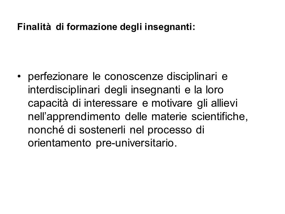 Attività di stage presso il Dipartimento di Matematica (resp.