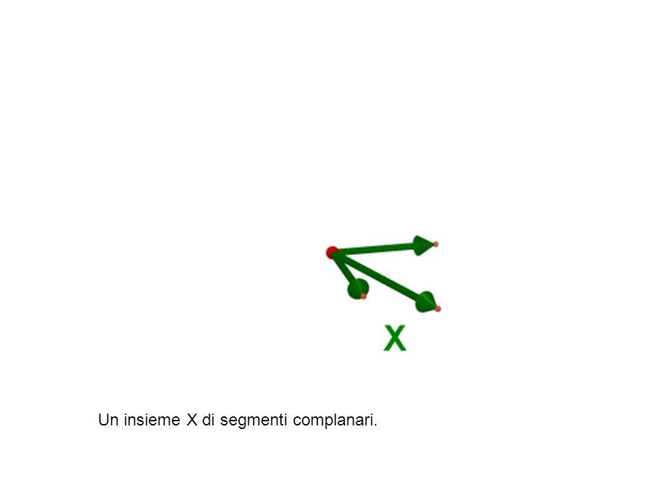 Il complemento ortogonale di X.