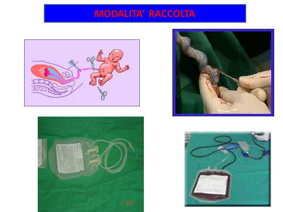 Raccolta del sangue OSTETRICIA ARRUOLAMENTO MAMME A.