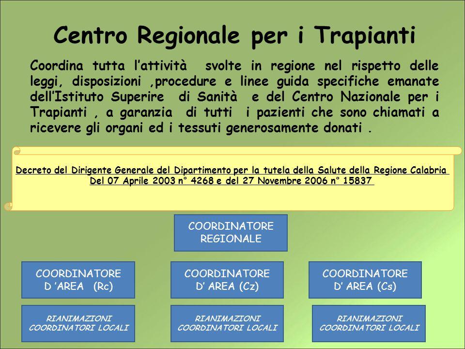 Decreto del Dirigente Generale del Dipartimento per la tutela della Salute della Regione Calabria del 14 marzo 2007 n° 2283 Nomina del Comitato Tecnico Regionale.