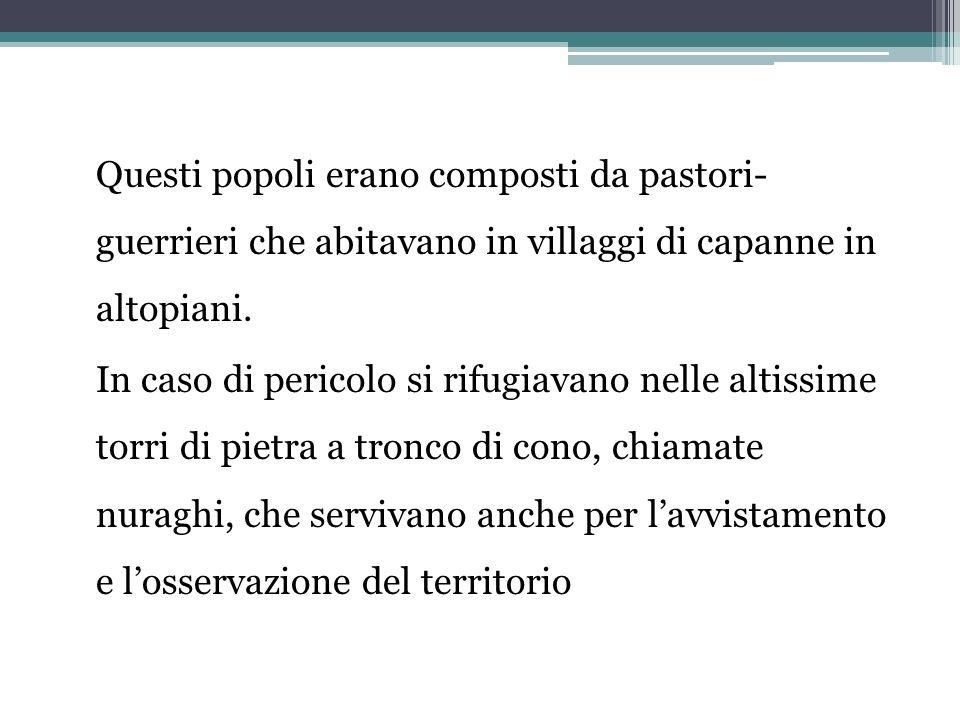 Letà del ferro NellItalia centrale intorno al 1000 a.