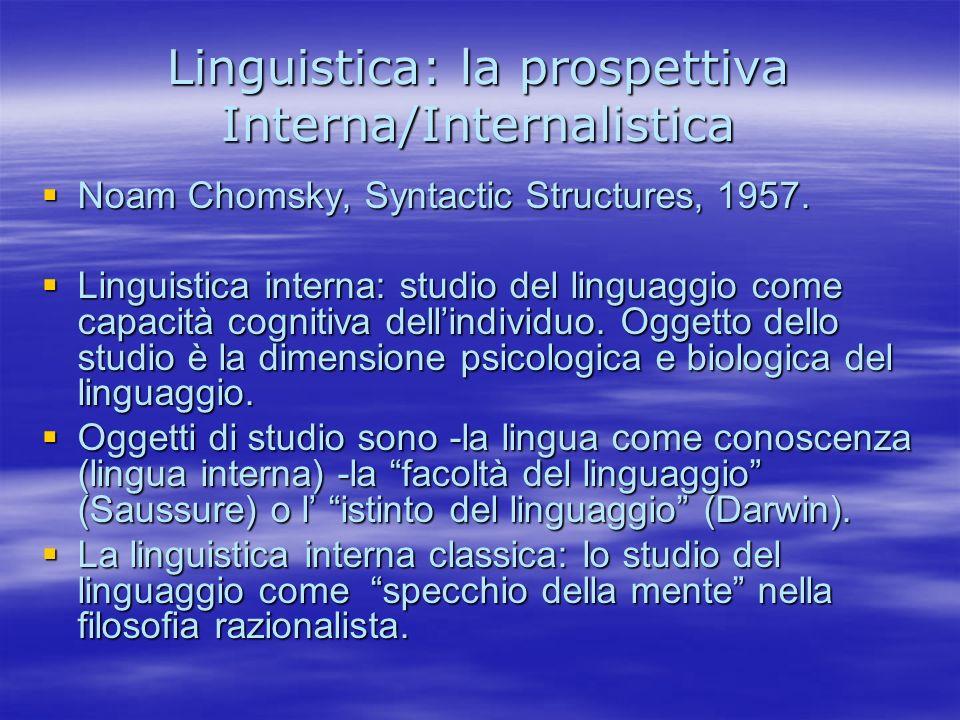 Sintesi (3) Sono utili le nozioni di Sono utili le nozioni di –Tratti linguistici come le proprietà associabili ai sintagmi individuali (es.
