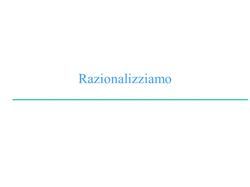 F.M.ZanzottoLinguaggi e Modelli dei Dati e della Conoscenza Facoltà di Lettere e Filosofia University of Rome Tor Vergata Esempio A (B A) AB B AA (B A) VVVV VFVV FVFV FFVV Esercizio: Provare a costruire la tabella di verità degli altri assiomi.