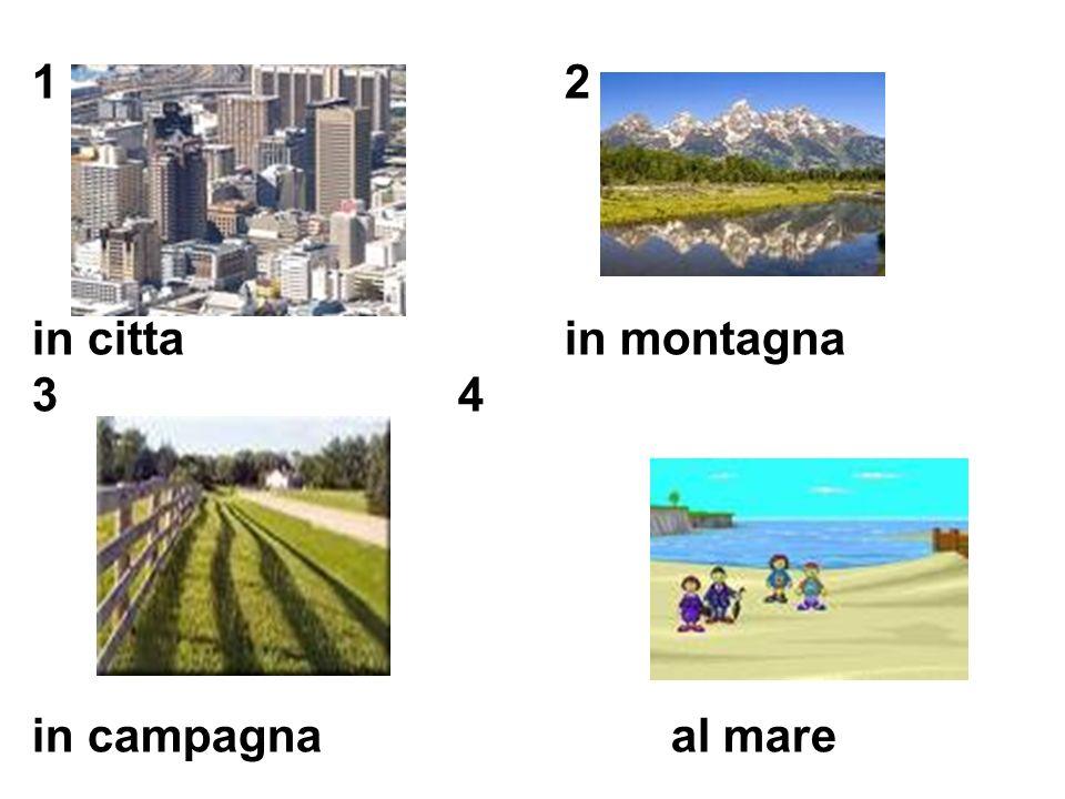 1. accanto a 2. dietro a 3. davanti a 4. su/sul/sulla 5. sotto 6. di fronte 7. in 8. a destra 9. a sinistra 10. fra a. next to b. behind c. in front o