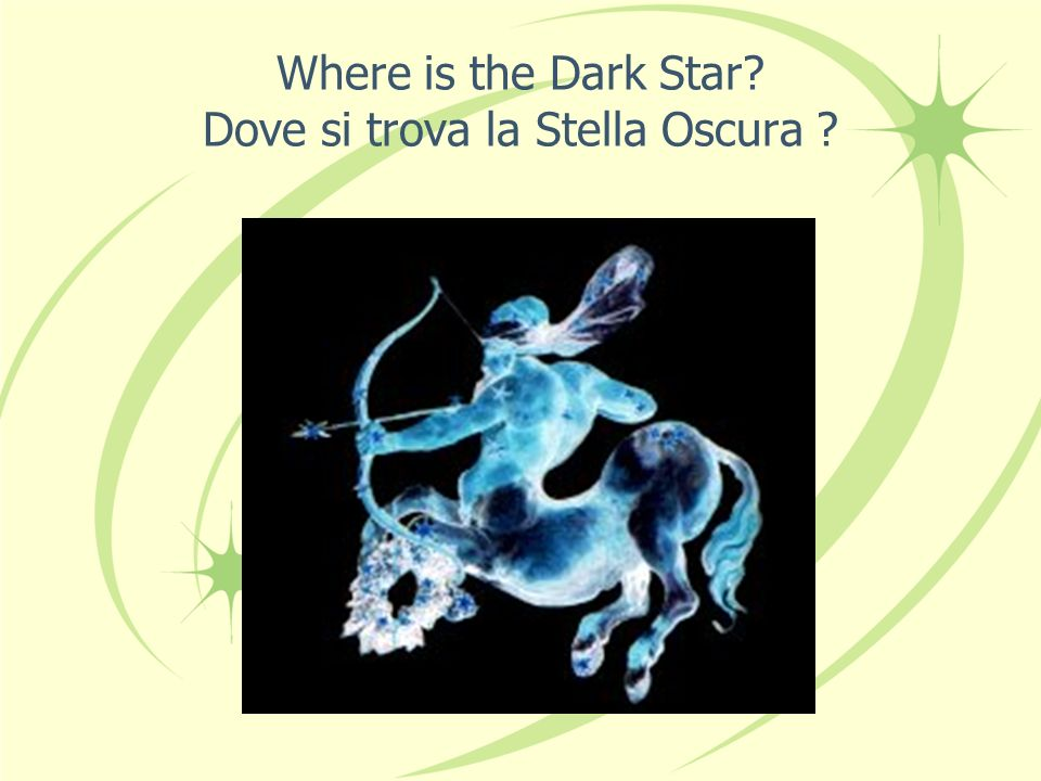 Where is the Dark Star Dove si trova la Stella Oscura