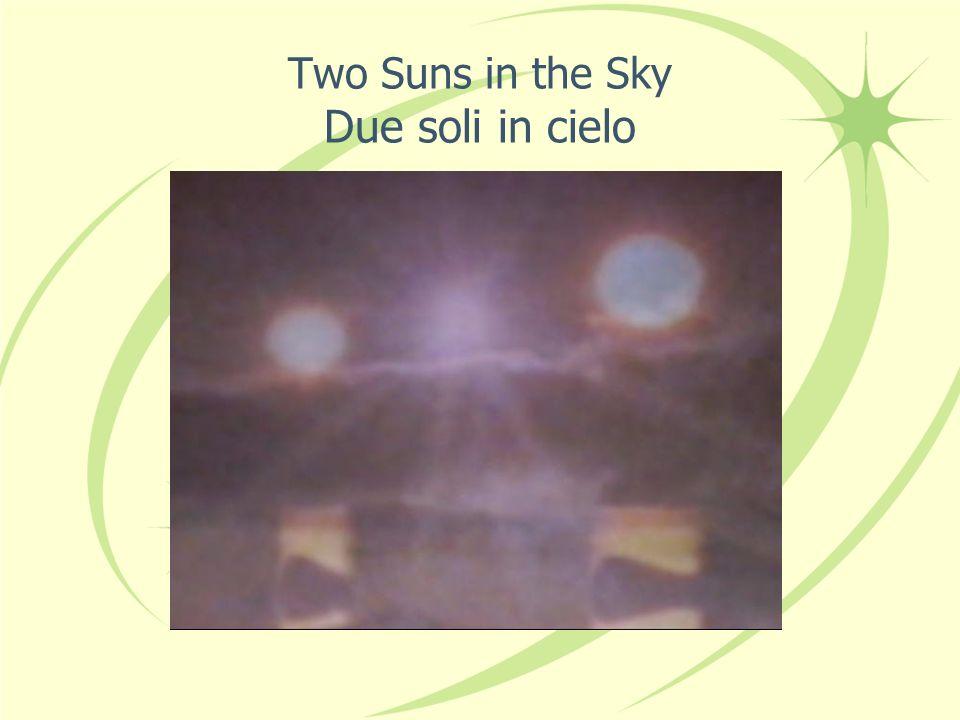 2) Dark Star at perihelion at the heliopause 2) Stella Oscura al perielio al eliopausa But: Too faint.
