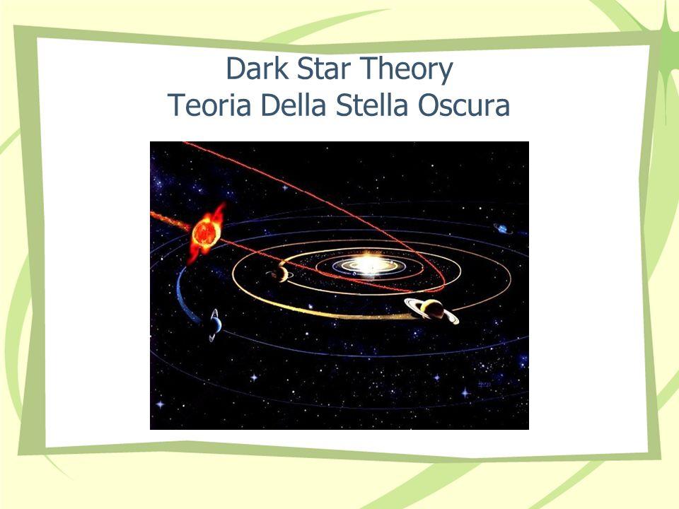 Dark Star Theory Teoria Della Stella Oscura