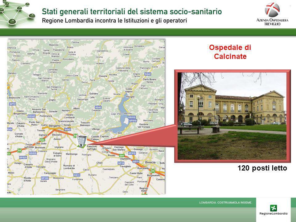 Ospedale di San Giovanni Bianco 130 posti letto