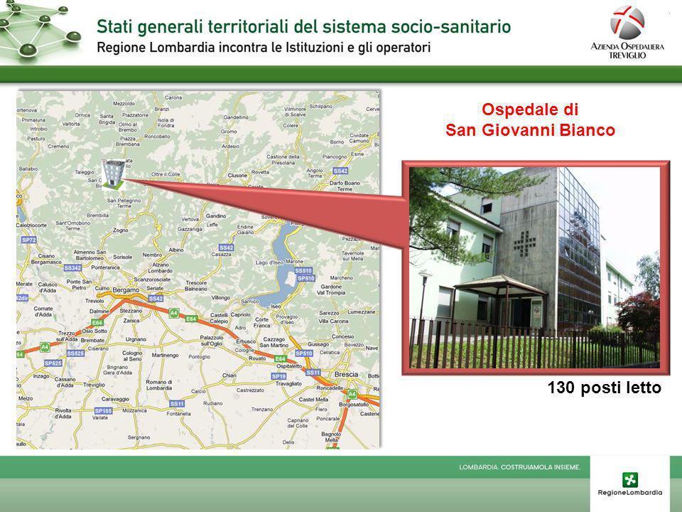 Poliambulatori Territoriali Calusco dAdda Dalmine Grumello del Monte Ponte San Pietro Treviglio Villa dAlmè Zogno