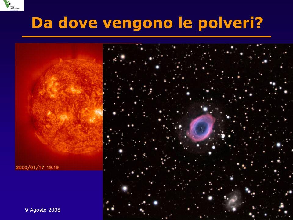 9 Agosto 2008S. Martino, Promano7 Da dove vengono le polveri.
