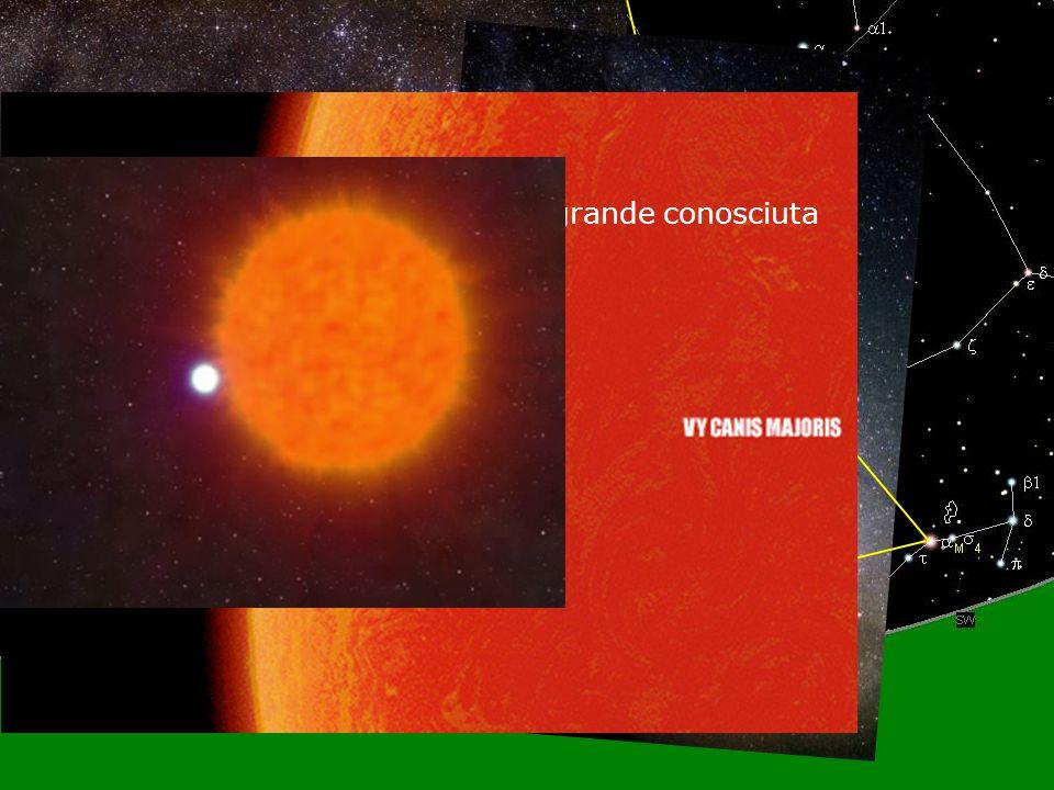 9 Agosto 2008S. Martino, Promano9 Spostandoci verso lorizzonte La stella piu grande conosciuta