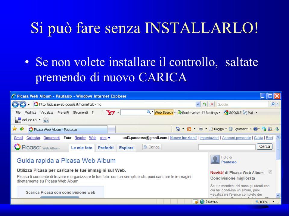 UNI3 – Nichelino – Corso PSP Si può fare senza INSTALLARLO.