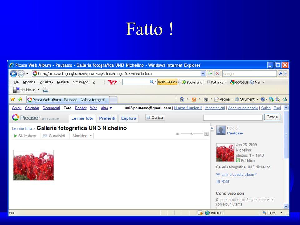 UNI3 – Nichelino – Corso PSP Fatto !