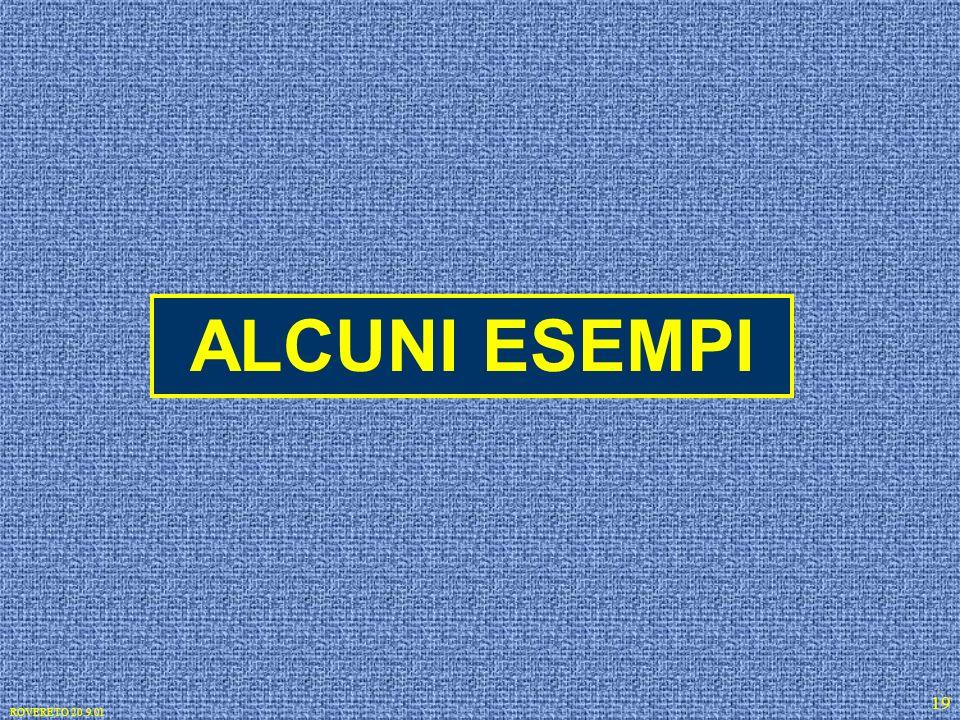 ROVERETO 20.9.01 19 ALCUNI ESEMPI