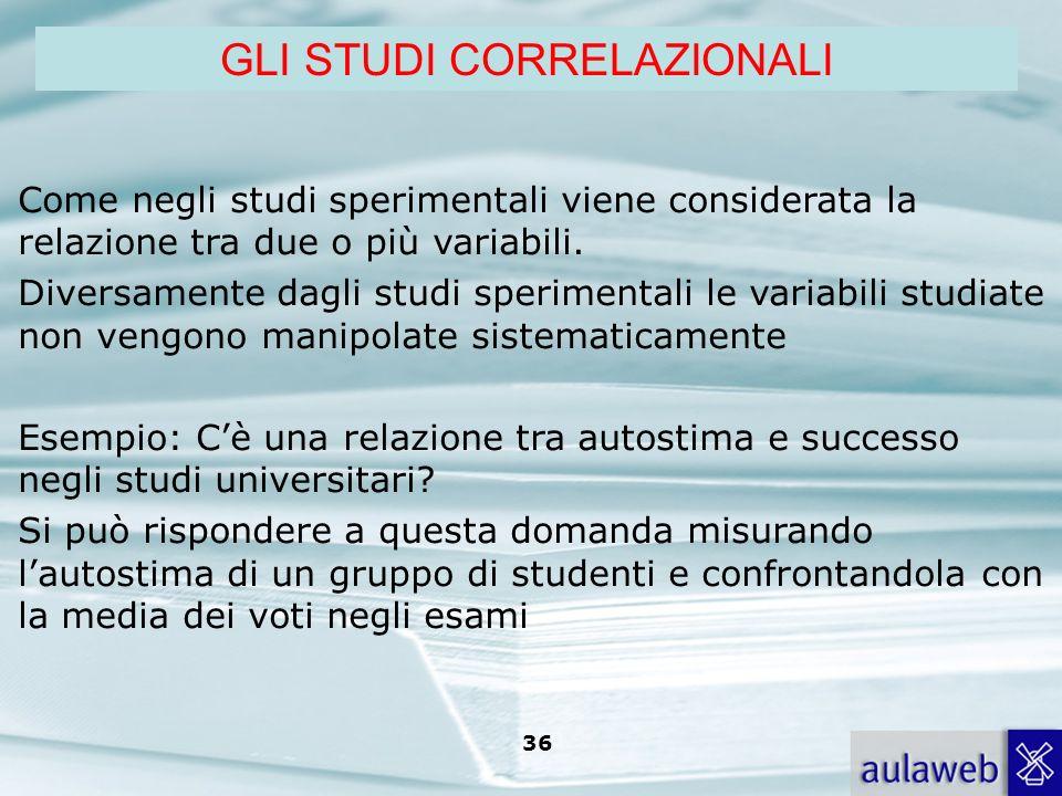 Rumiati, Lotto, Introduzione alla psicologia della comunicazione, il Mulino, 2007 Capitolo I. TITOLO 36 Come negli studi sperimentali viene considerat