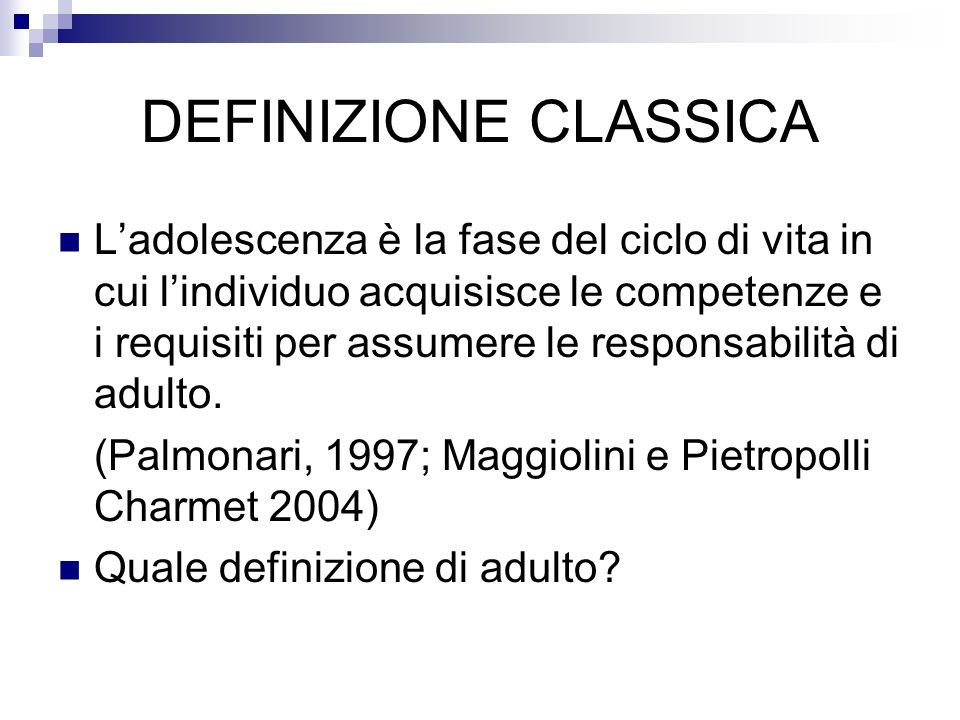 GLI INDICATORI SOCIOLOGICI DELLA TRANSIZIONE 1.LUSCITA DAL CIRCUITO FORMATIVO; 2.