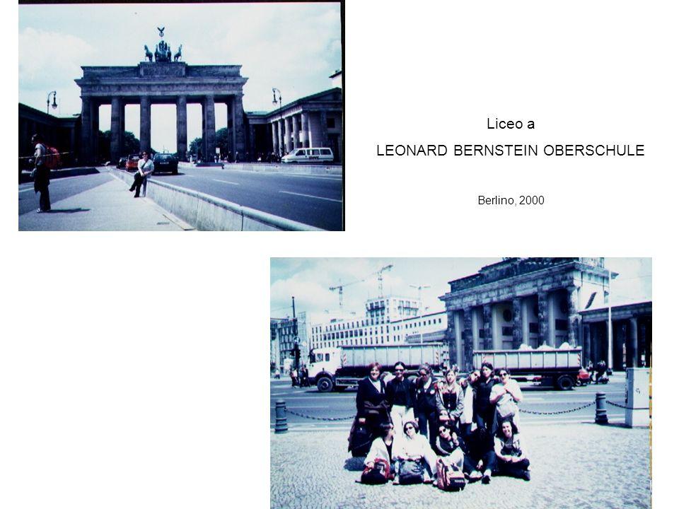 Liceo a LEONARD BERNSTEIN OBERSCHULE Berlino, 2000