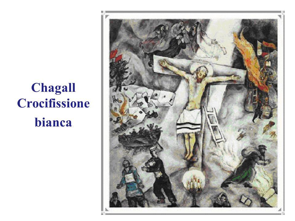 Chagall Crocifissione bianca