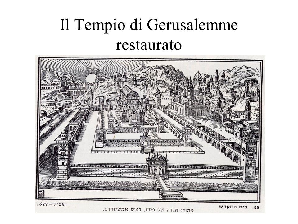 Il Tempio di Gerusalemme restaurato