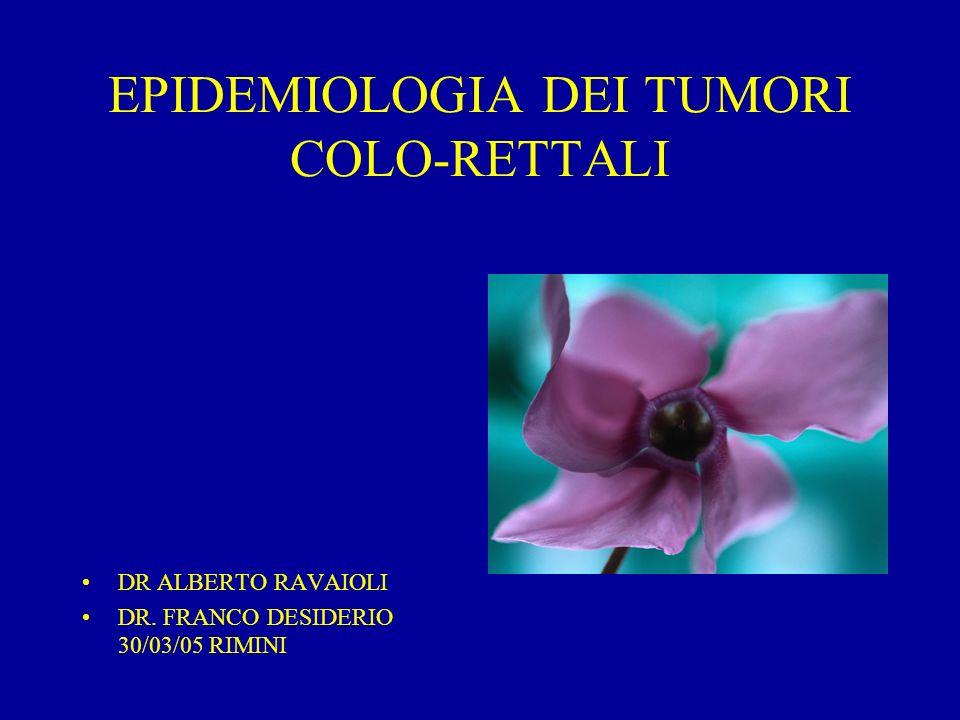 CANCRO DEL COLON-RETTO IN EUROPA (1997)