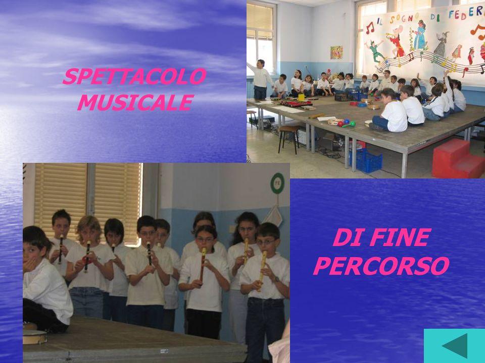SPETTACOLO MUSICALE DI FINE PERCORSO