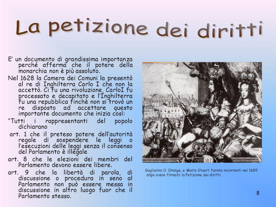 9 Nel 1848 Carlo Alberto di Savoia concesse ai sudditi del Regno Sardo piemontese la Costituzione, che da lui prende il nome di Statuto Albertino.