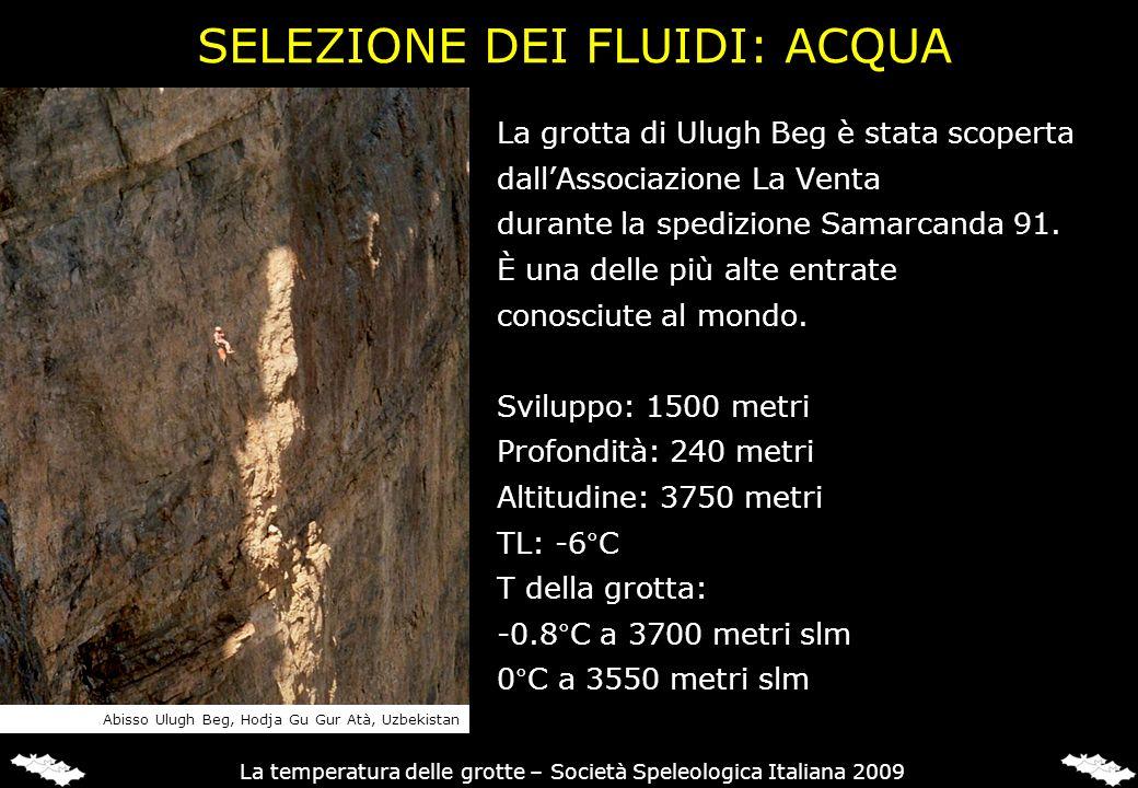 La grotta di Ulugh Beg è stata scoperta dallAssociazione La Venta durante la spedizione Samarcanda 91. È una delle più alte entrate conosciute al mond