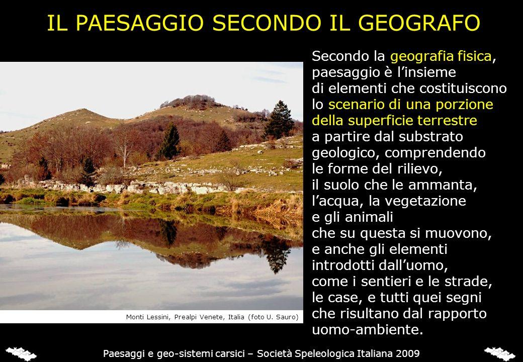 LA FASE PRE-OROGENETICA Paesaggi e geo-sistemi carsici – Società Speleologica Italiana 2009