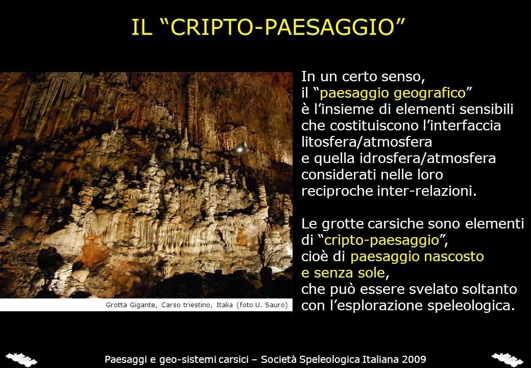 LA FASE OROGENETICA Paesaggi e geo-sistemi carsici – Società Speleologica Italiana 2009
