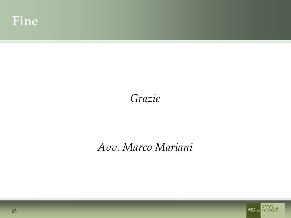 Fine Grazie Avv. Marco Mariani 69