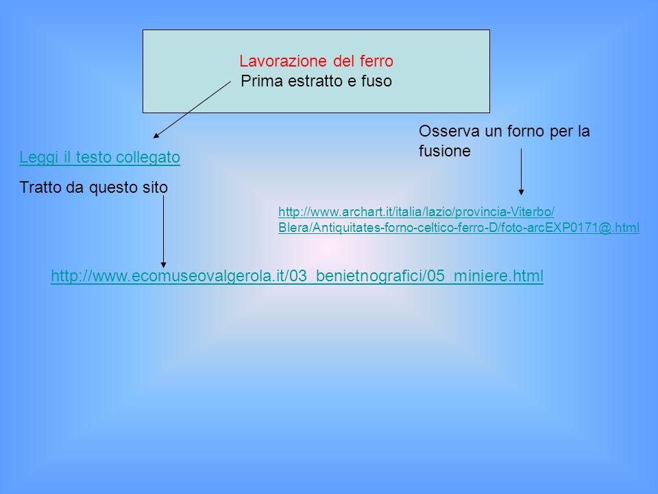 Poi forgiato Osserva come si forgia il ferro http://www.youtube.com/watch?v=X244qnOyM14&feature=related