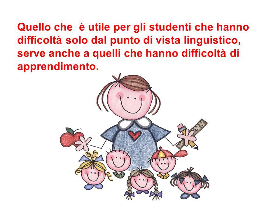 Per semplificare si deve considerare la lingua parlata dagli studenti e il livello di conoscenza dellitaliano per poter fare una scelta efficace: i testi non devono essere né troppo difficili, né troppo facili.