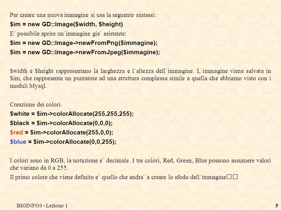 BIOINFO3 - Lezione 14