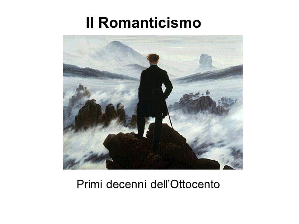 Il Romanticismo Primi decenni dellOttocento