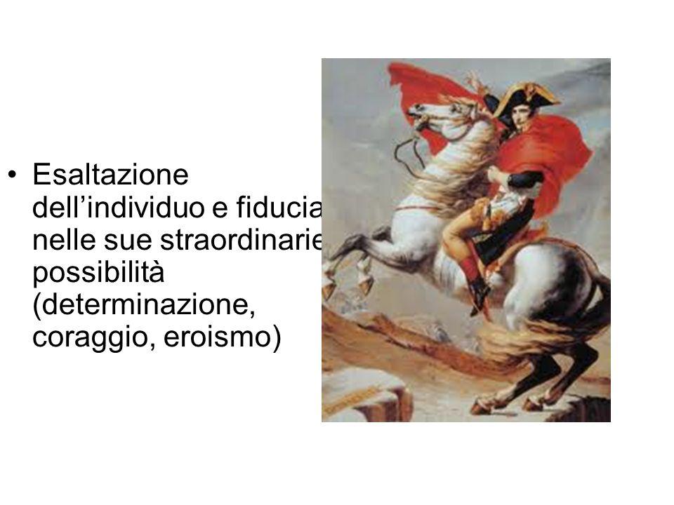 La poesia è … … frutto del genio romantico che aspira allinfinito....