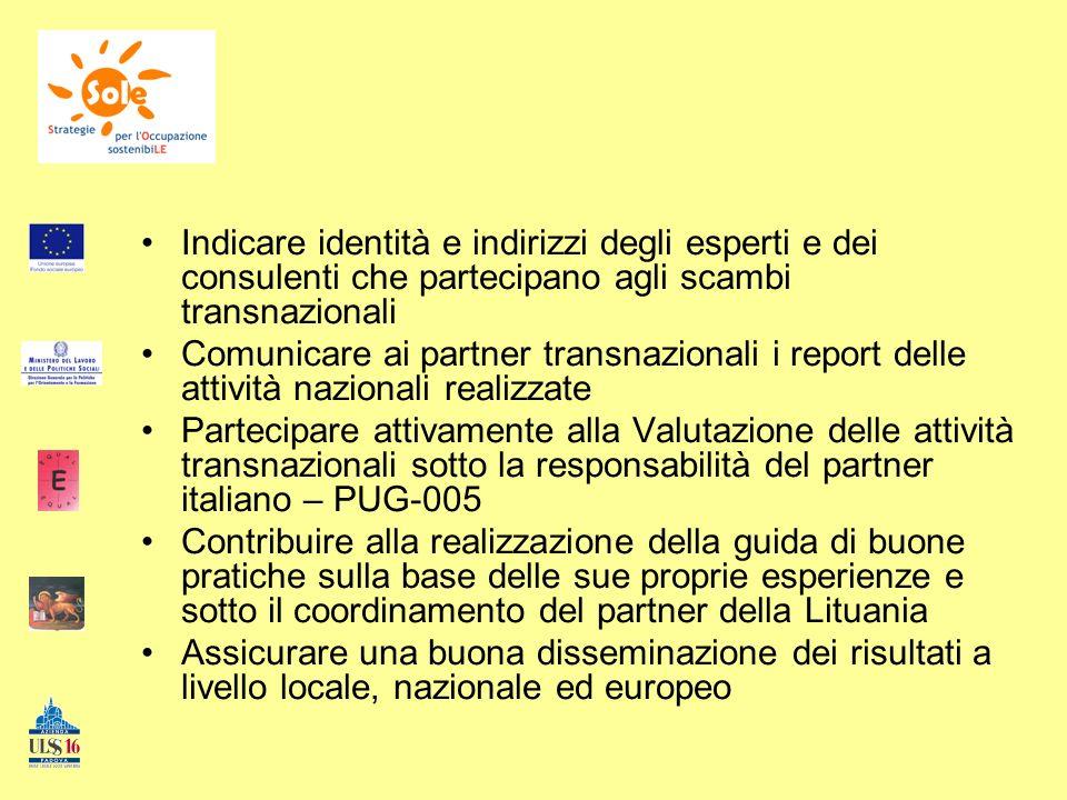 Inoltre: Il partner polacco mette a disposizione una parte del suo sito web per la creazione di un forum di discussione per i partner.